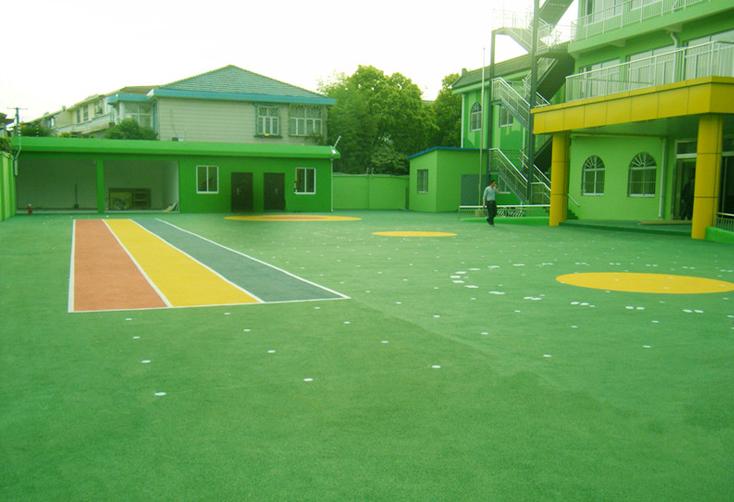 幼儿园环保地坪