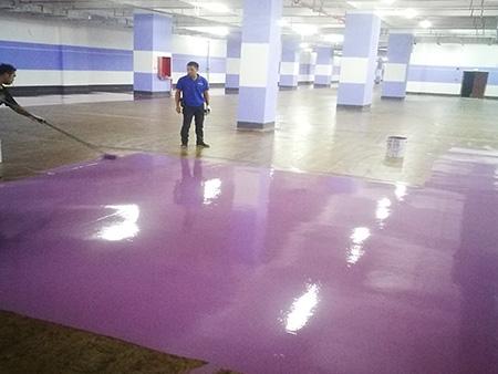 地坪漆施工图