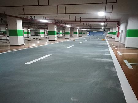 地下停车场效果图